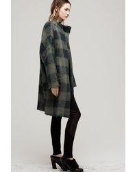 Rag & Bone - Green Cammie Sweater Coat - Lyst