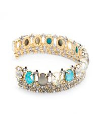 Alexis Bittar | Blue Crystal Lace Cuff Bracelet You Might Also Like | Lyst