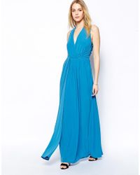 Coast - Blue Mona Maxi Dress - Lyst