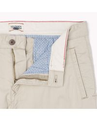 Tommy Hilfiger | Brown Slim Fit Trousers for Men | Lyst