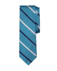 Brooks Brothers | Blue Bb#3 Stripe Slim Tie for Men | Lyst