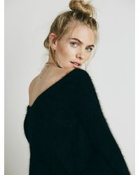 Free People | Black Womens Dreamland V-back Tunic | Lyst
