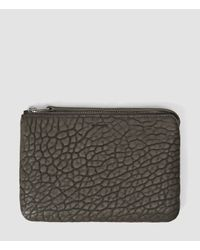 AllSaints - Gray Paradise Chain Purse - Lyst