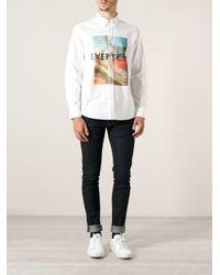 Soulland - White 'Kumphanart' Shirt for Men - Lyst
