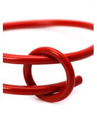 WXYZ Jewelry - Red 'overlap' Bangle - Lyst