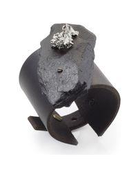 Noritamy | Black & Silver Cuff | Lyst