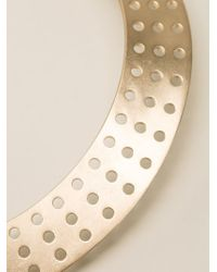 Kelly Wearstler | Metallic Perforated Collar Necklace | Lyst