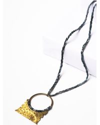 Free People | Metallic Luna Sol Womens Dakoro Pendant | Lyst