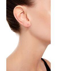 Loquet London | Metallic 14k Gold Key Stud Earring | Lyst