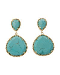 Kendra Scott - Blue Penny Post Earring - Lyst