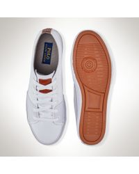 Polo Ralph Lauren | White Cantor Sneaker for Men | Lyst