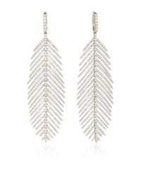 Sidney Garber - Metallic Feathers That Move Earrings - Lyst