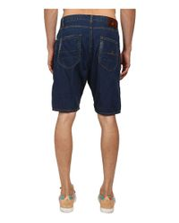 Vivienne Westwood - Blue Anglomania Lee Asymmetric Short for Men - Lyst