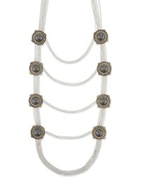 Alexander McQueen | Metallic Military Jewelled Necklace - For Women | Lyst