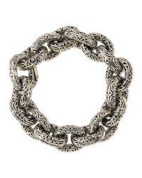 Konstantino | Metallic Sterling Silver Chunky Link Bracelet | Lyst