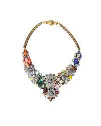 Shourouk | Multicolor Apolonia Fox Necklace | Lyst