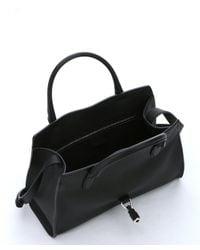 Gucci - Black Leather 'jackie' Convertible Top Handle Bag - Lyst