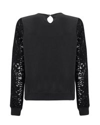 Almost Famous | Black Appliqué Jumper | Lyst