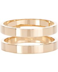 Repossi - Metallic Berbere Double-band Cage Ring - Lyst
