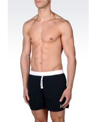 EA7 | Blue Sea World Line Swimsuit for Men | Lyst