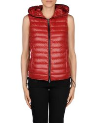 Duvetica | Red Down Jacket | Lyst