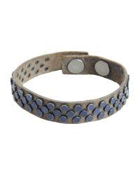 HTC - Gray Bracelet - Lyst