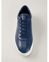 Dolce & Gabbana - Blue Napa Calfskin Sneakers for Men - Lyst