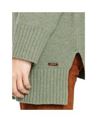 Polo Ralph Lauren - Green Merino Wool Turtleneck Sweater - Lyst