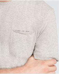 Zara | Gray Printed T-shirt for Men | Lyst