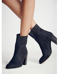 Free People - Black Night Vision Heel Boot - Lyst