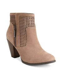 Me Too | Natural Adam Tucker Brandi Booties | Lyst