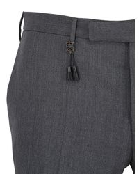 Incotex | Gray 18cm Super 100s Wool Batavia Pants for Men | Lyst
