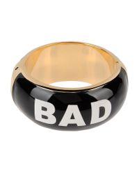 Moschino | Black Bracelet | Lyst