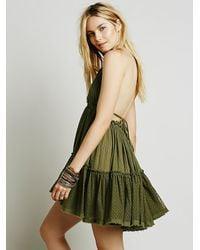 Free People - Green 100 Degree Dress - Lyst