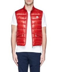 Men's Red 'gui' Down Vest