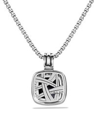 David Yurman | Metallic Albion Pendant With Black Onyx & Diamonds | Lyst