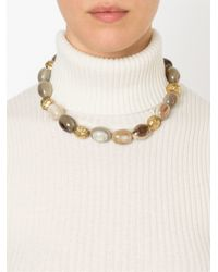 Ashley Pittman   Natural 'cattle Horn' Necklace   Lyst