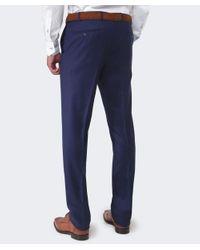 Corneliani | Blue Wool Trousers for Men | Lyst