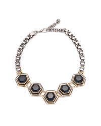 Lulu Frost - Blue Nicandra Hex Necklace - Lyst