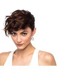 Lulu Frost | White Oleander Drop Earring | Lyst