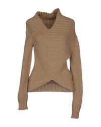 DSquared² - Natural Sweater - Lyst