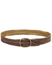 Linea Pelle | Metallic Vintage Braided Belt | Lyst