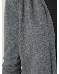 Marni - Gray Cropped Cardigan - Lyst