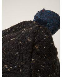 Paul Smith - Black Chevron Hat for Men - Lyst