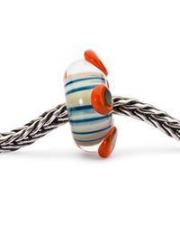 Trollbeads - Blue Sterling Silver Stamen Of Life Charm - Lyst