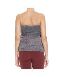 Manila Grace - Gray Sweater - Lyst