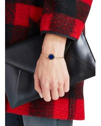 Marc By Marc Jacobs - Logo Disc-o Blue Enamel Bracelet - Lyst
