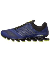 Adidas | Blue Springblade Drive 2 Low-Top Running Sneakers for Men | Lyst