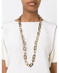 DSquared² | Metallic Chain Necklace | Lyst