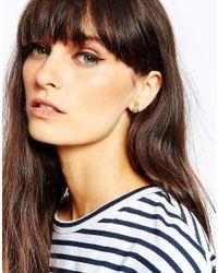 Bill Skinner | Metallic Pretty Pineapple Stud Earrings | Lyst
